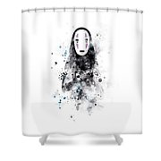 No Face Shower Curtain
