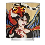 No Fox Given Shower Curtain