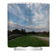 Pathway To The Sky Shower Curtain