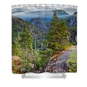 Colorful Wilderness Shower Curtain