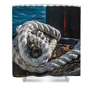 Ship Rope Shower Curtain