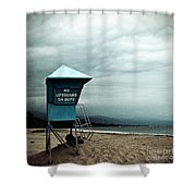 Santa Barbara Life Guard Shower Curtain