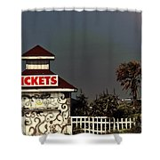 No More Tickets Shower Curtain