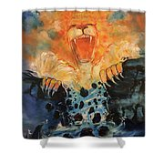 No More Walls Shower Curtain