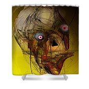 No Mouth Shower Curtain