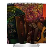No Name 95 Shower Curtain