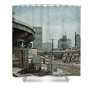 No Northerly Exit Shower Curtain