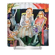 No Peeking Shower Curtain