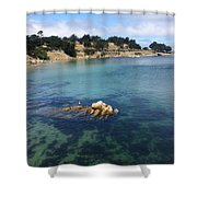 No Place Like Monterey Shower Curtain