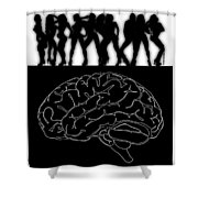 Mind Full Shower Curtain