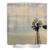 No Rotation Shower Curtain