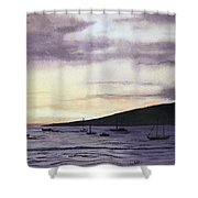 No Safer Harbor Lahaina Hawaii Shower Curtain