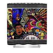 No Slave Songs Shower Curtain