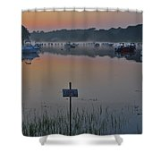 No Stone Throwing Shower Curtain