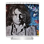 No Sugar Is Enough To Bring Sweetness To His Cup Shower Curtain
