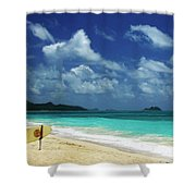 No Surf Today Shower Curtain