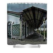 No Trains Shower Curtain