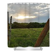 No Tresspassing Shower Curtain