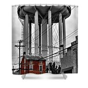 No Turn On Red, Frederick, Maryland, 2015 Shower Curtain
