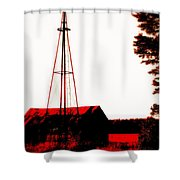 No Wind No Water Shower Curtain