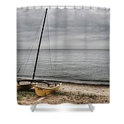 No Wind Today Shower Curtain