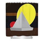 No043 My It Minimal Movie Poster Shower Curtain