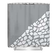 No091 My The Hill Minimal Movie Poster Shower Curtain