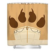 No173 My Life Of Pi Minimal Movie Poster Shower Curtain