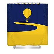 No177 My Wizard Of Oz Minimal Movie Poster Shower Curtain
