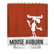 No19 My Minimal Color Code Poster Bullwinkle Shower Curtain