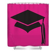 No301 My Legally Blonde Minimal Movie Poster Shower Curtain