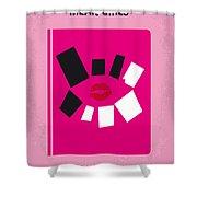 No458 My Mean Girls Minimal Movie Poster Shower Curtain