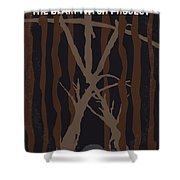No476 My The Blair Witch Project Minimal Movie Poster Shower Curtain