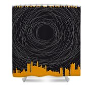 No568 My The Theory Of Everything Minimal Movie Poster Shower Curtain