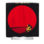 No620 My The Martian Minimal Movie Poster Shower Curtain