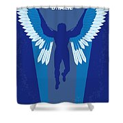 No643 My Brazil Minimal Movie Poster Shower Curtain
