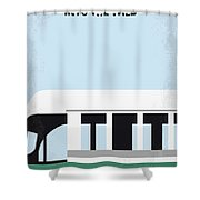 No677 My Into The Wild Minimal Movie Poster Shower Curtain