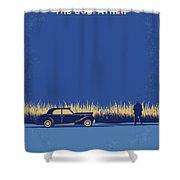 No686-1 My Godfather I Minimal Movie Poster Shower Curtain