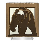 No824 My The Great Outdoors Minimal Movie Poster Shower Curtain