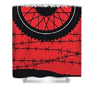 No958 My The Great Escape Minimal Movie Poster Shower Curtain