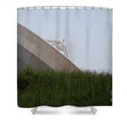 Noaa Satelite Shower Curtain