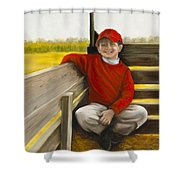 Noah On The Hayride Shower Curtain