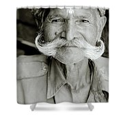 Nobility Of India Shower Curtain