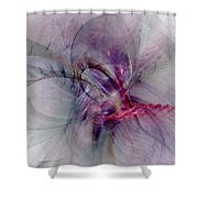 Nobility Of Spirit - Fractal Art Shower Curtain