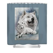 Noble Intensity Shower Curtain