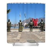 Noble Square Shower Curtain