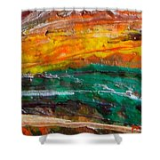 Nobody Landscape Shower Curtain