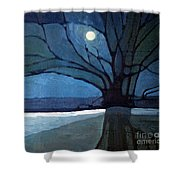 Nocturne 71 Shower Curtain
