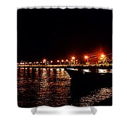 Nocturne Boat Shower Curtain