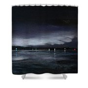 Nocturne, Claytor Lake Shower Curtain